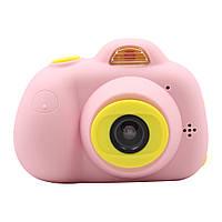Фотокамера Kids Camera c дисплеем Розовая