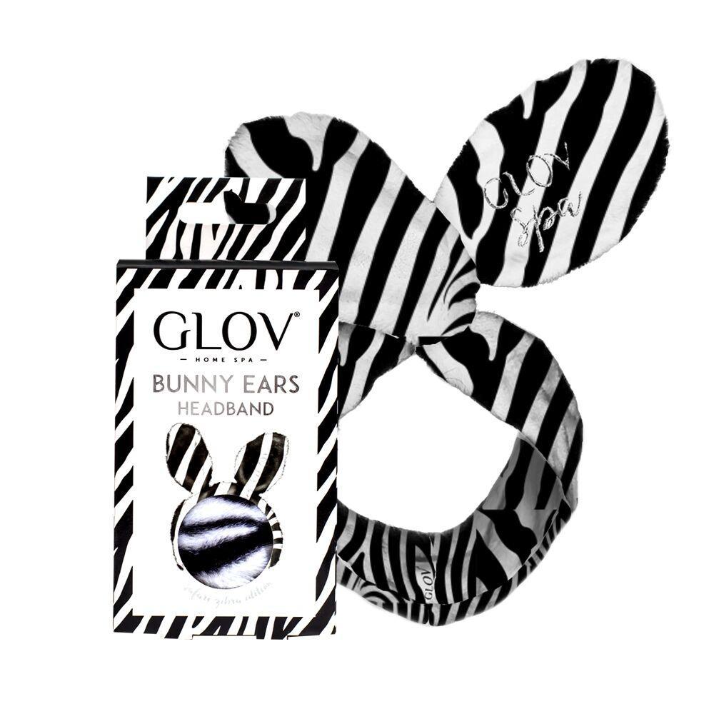 Обруч GLOV Bunny Ears - зебра - фото 1