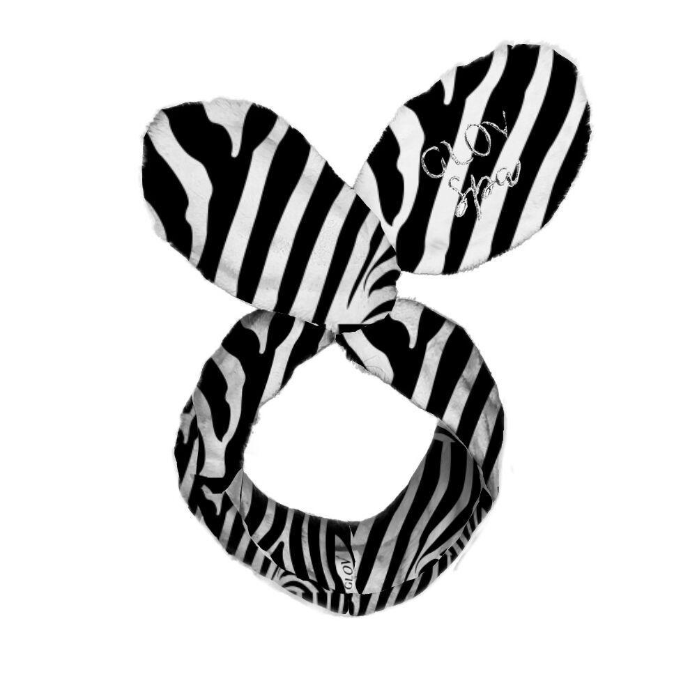 Обруч GLOV Bunny Ears - зебра - фото 3