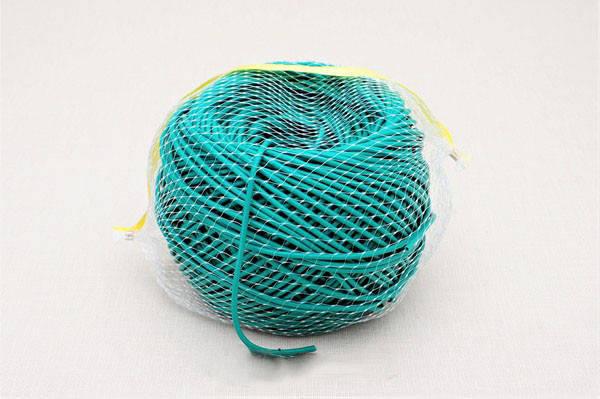 Кембрик (агрошнурок) для підв'язування 3 мм зелений 1 кг Кордіолі (Cordioli), фото 2
