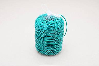 Кембрик (агрошнурок) для підв'язування 4 мм зелений 1 кг Кордіолі (Cordioli)