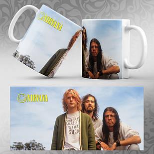 Чашка Nirvana 007