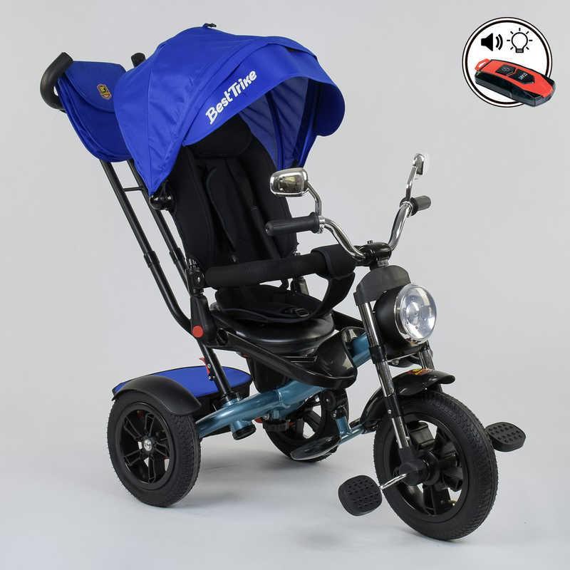 Велосипед 3-х колёсный Best Trike 4490 - 2761 Синий (IG-77218)