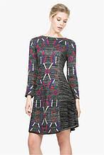 Жіноча сукня трикотажне з принтом Desigual