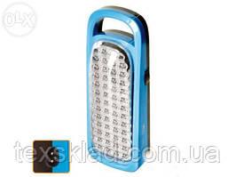 Лампа аккумуляторная, панель 50 Led (6803)