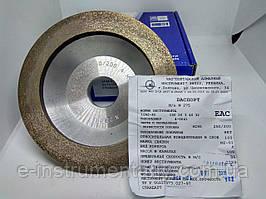 Круг алмазний для обробки каменю 150х20х3х40х32 (12А2-45°). Зерно 250/200