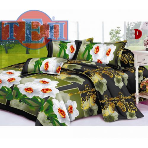 Качественное постельное белье ТЕП  RestLine 114  «Верона» 3D дешево от производителя.