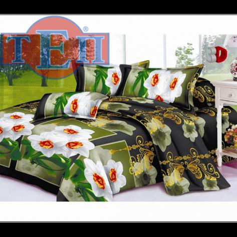 Качественное постельное белье ТЕП  RestLine 114  «Верона» 3D дешево от производителя., фото 2