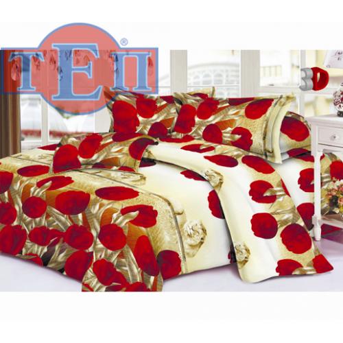 Качественное постельное белье ТЕП  RestLine 115  «Тюльпан» 3D дешево от производителя.