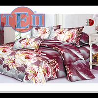 Качественное постельное белье ТЕП  RestLine 116  «Джоржины» 3D дешево от производителя.
