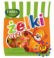 Желейные конфеты Zelki Weze Червячки Fiesta 80 г Польша