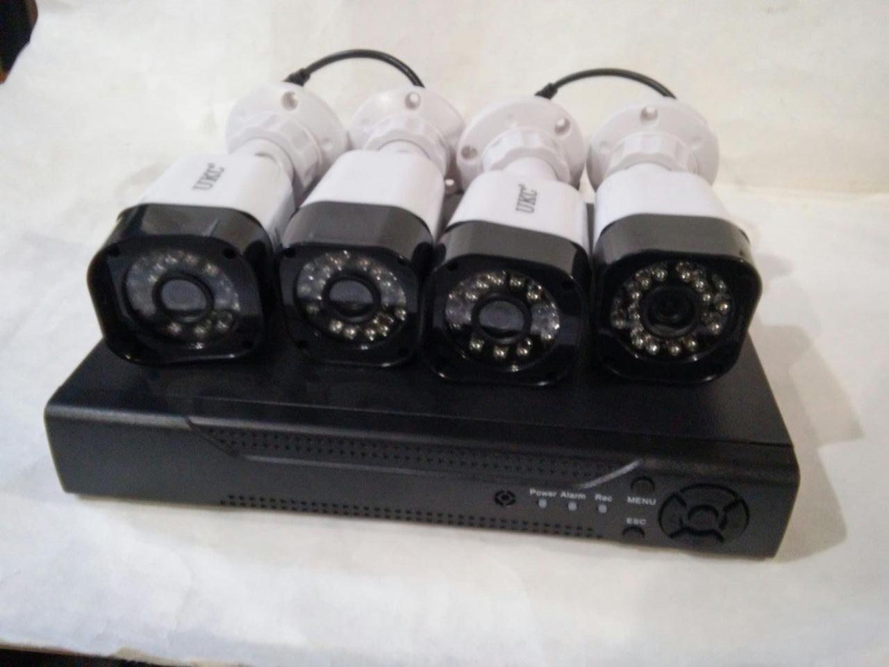 Регистратор + 4 Камеры DVR CAD D001 KIT 2mp\4ch