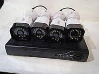 Регистратор + 4 Камеры DVR CAD D001 KIT 2mp\4ch, фото 1