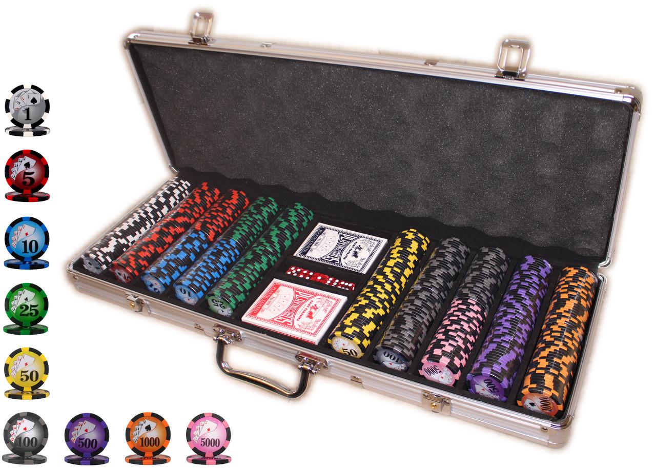 """Набор для игры в покер """"ALL IN 500"""""""