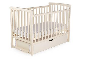 Кроватка детская DeSon Mriya с ящиком Ваниль