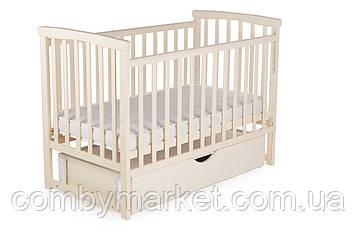 Ліжечко дитяче DeSon Mriya з ящиком білий Ваніль