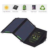 Портативная солнечная батарея Allpowers 10 Watt Зарядное устройство для туристов