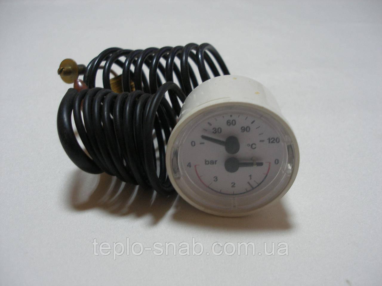 Термоманометр газового котла Nobel NB2-24 SE. 53560