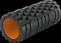 Массажный ролик Power System, EVA, р-р 33х15см., d-14,5см,  черный (PS-4050_Orange)