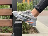 Кроссовки натуральная кожа Adidas Yeezy Boost 700 V2 Адидас Изи Буст (36,37,38,39,40), фото 8