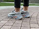Кроссовки натуральная кожа Adidas Yeezy Boost 700 V2 Адидас Изи Буст (36,37,38,39,40), фото 9
