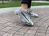 Кроссовки натуральная кожа Adidas Yeezy Boost 700 V2 Адидас Изи Буст (36,37,38,39,40), фото 10