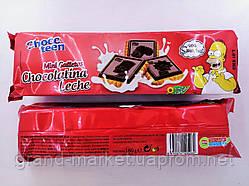 Печиво міні Chocoteen the Simpsons з молочним шоколадом 160 г