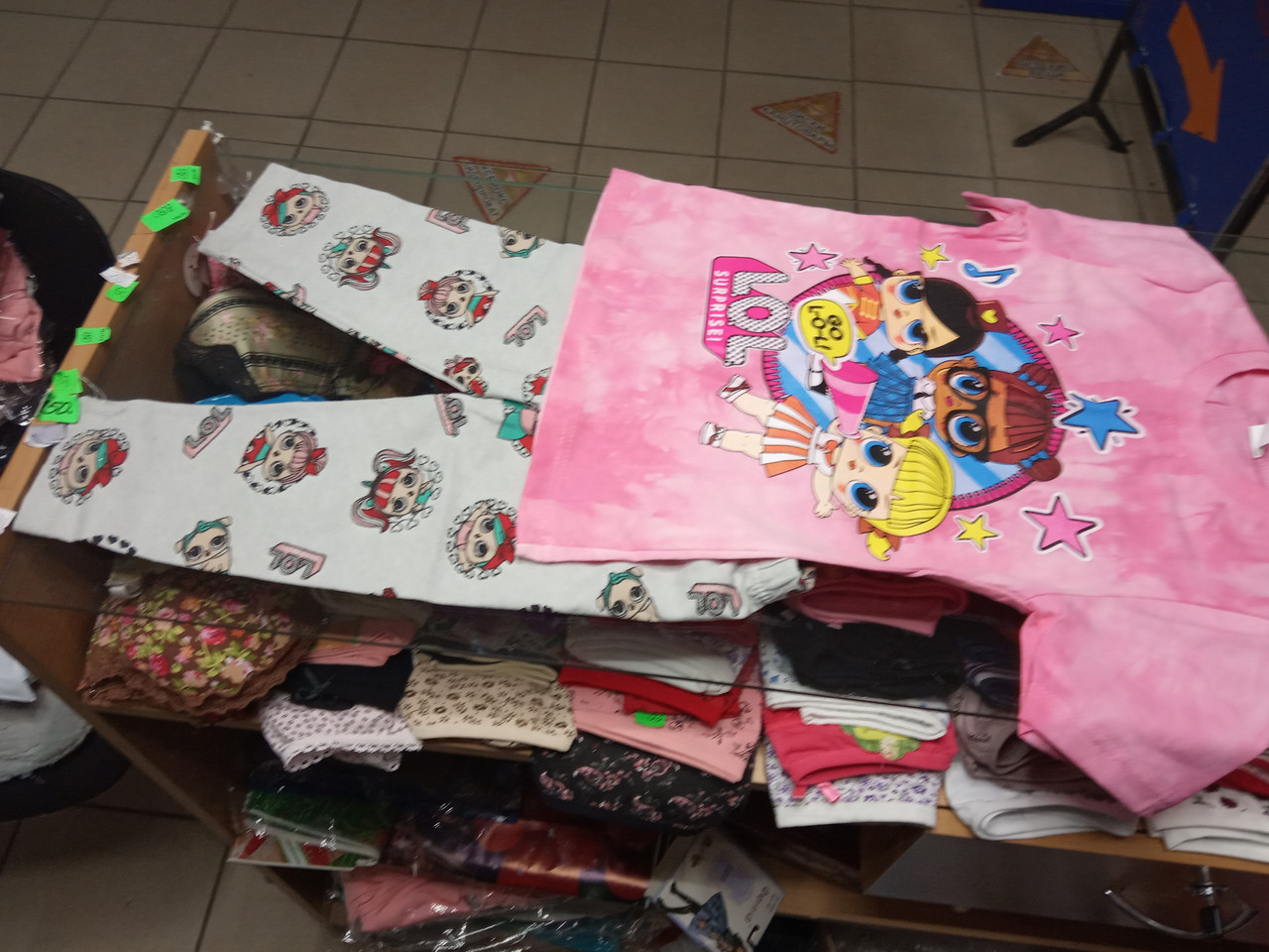 Летний детский костюм для девочки Куклы Лол р.116 - 140