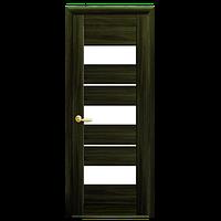 Дверное полотно ЛИЛУ кедр Новый стиль коллекция Мода экошпон