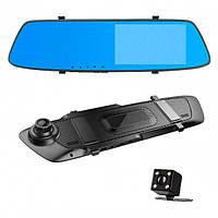"""Автомобильный видеорегистратор-зеркало B&V L1001C 5""""1080P Full HD с камерой заднего вида"""