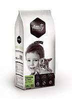Корм для котов AMITY  Kitten  10 кг повседневный для котят, с курицей и рисом