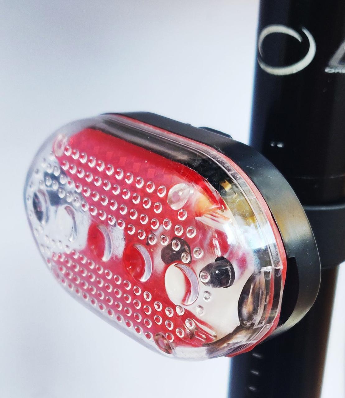 Велосипедный фонарь габаритный (задний стоп) J-RT08