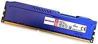 Игровая оперативная память Kingston HyperX Fury DDR3 8Gb 1600MHz PC3 12800U 2R8 CL10 (HX316C10F/8) Б/У, фото 1
