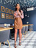 """Крутєйша спідниця """"Тіффані"""", тканина: екошкіра Розмір: 42-44. Різні кольори (1882), фото 5"""