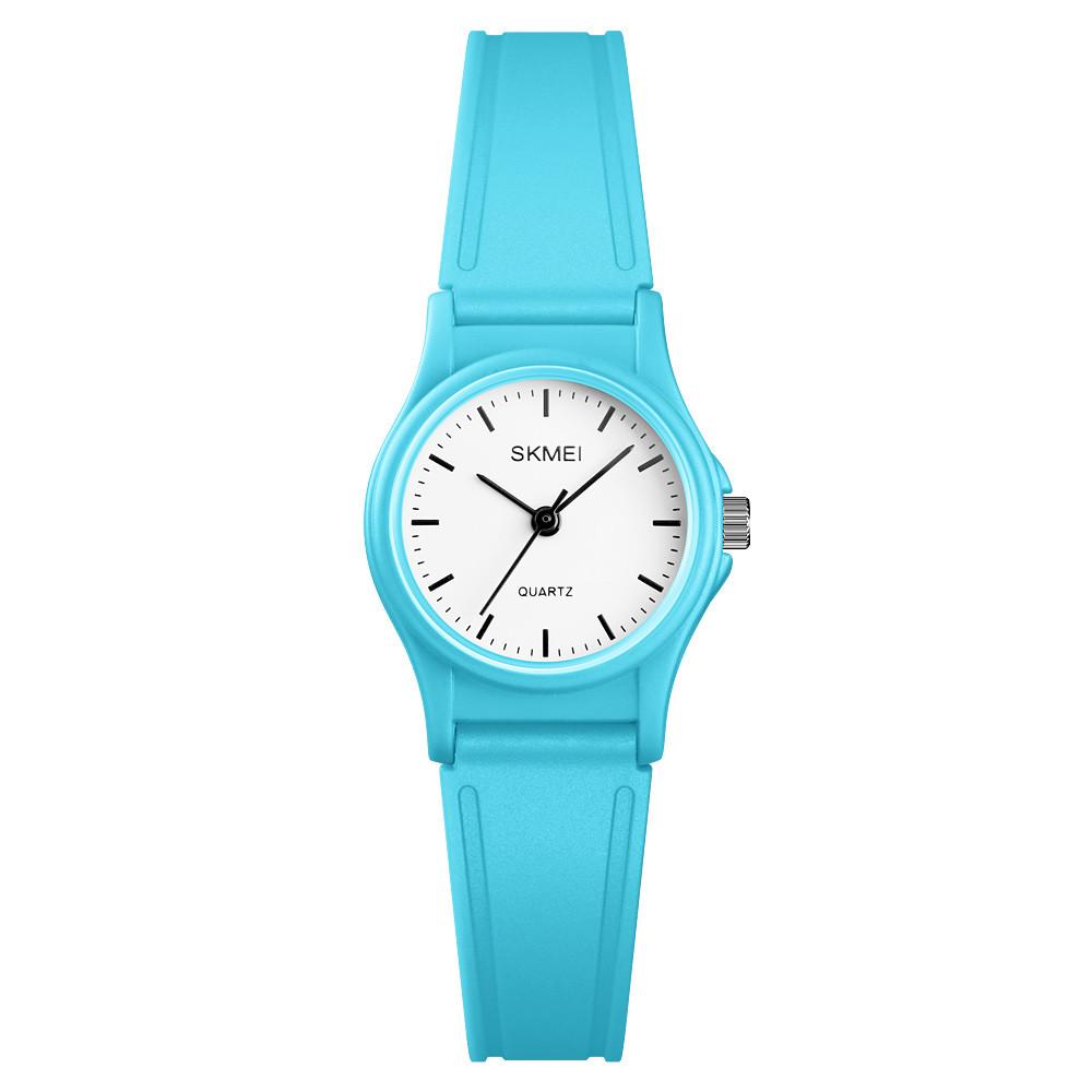 Skmei 1401 светло синие детские кварцевые  часы