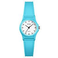 Skmei 1401 светло синие детские кварцевые  часы, фото 1