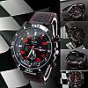 Часы Street Racer GT Черные с красным
