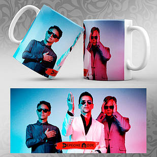 Чашка Depeche Mode 002