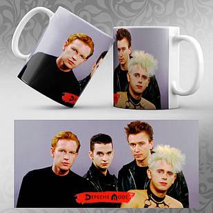 Чашка Depeche Mode 003