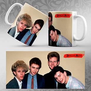 Чашка Depeche Mode 004