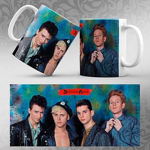 Чашка Depeche Mode 006