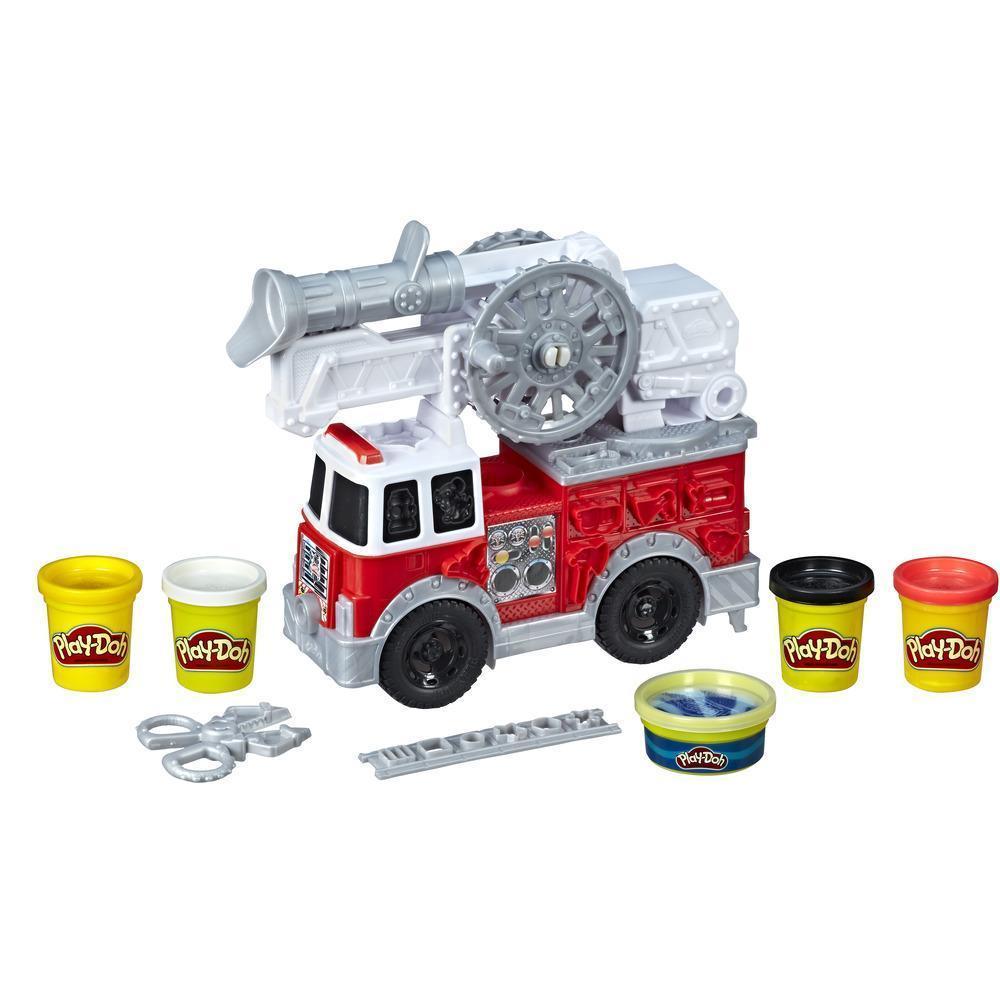 Игровой набор Hasbro Play-Doh Пожарная Машина (E6103)