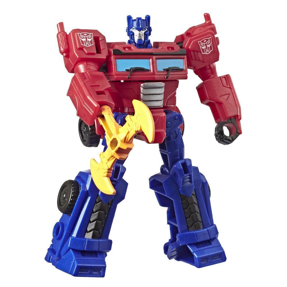Трансформер Hasbro Transformers Кибервселенная Optimus Prime 10см (E1883-E4784)
