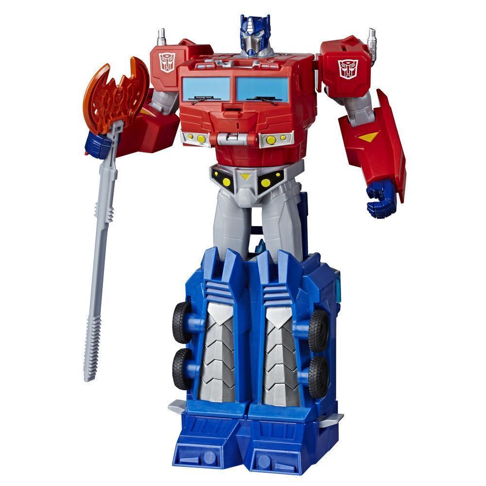 Трансформер Hasbro Transformers Кибервселенная Optimus Prime (E1885-E7112)