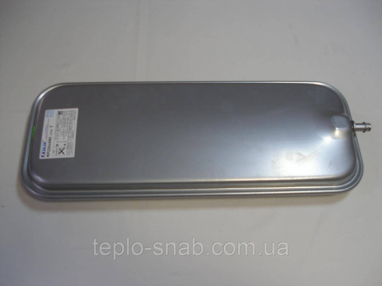 Расширительный бак 7 л. газового настенного котла Ferroli Domiproject C24D/F24D, FerEasy C24D/F24D. 39827800.
