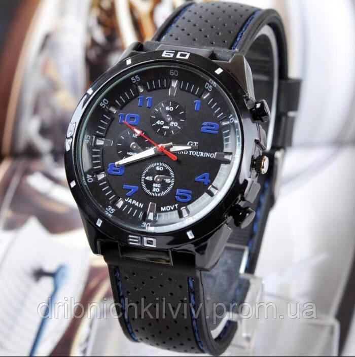Часы Street Racer GT  Черные с синим