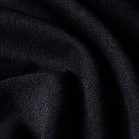 Блекаут рогожка черного цвета Турция