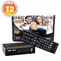 Тюнер DVB-T2 0967 с поддержкой wi-fi адаптера (c экраном)