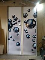Двери в шкаф купе с фото 240 см на 140 см
