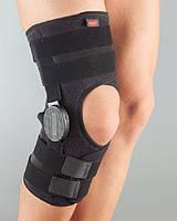 Бандаж на колено с шарниром для регулировки угла сгибания тм Aurafix 3125